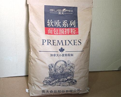 面包预拌粉成品含有维他命成分